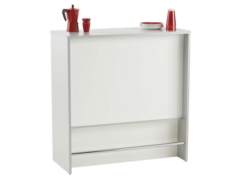Element Bar Spoon Blanc Vente De Meuble Bas Conforama