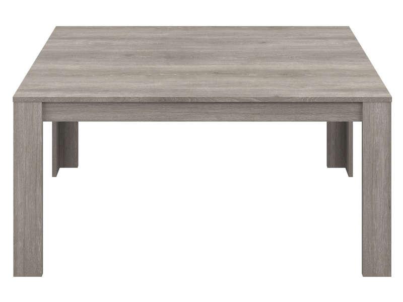 Table 160 Cm Allonge En Option Angel Coloris Chene Gris Vente De Table Conforama