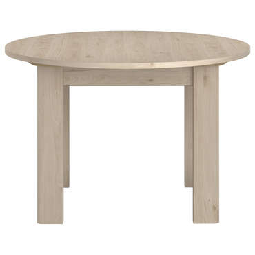 Table 120 Cm Avec Allonge Portland Imitation Chene Naturel Vente De Table Conforama