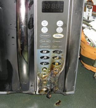 microwaves can be a fire hazard