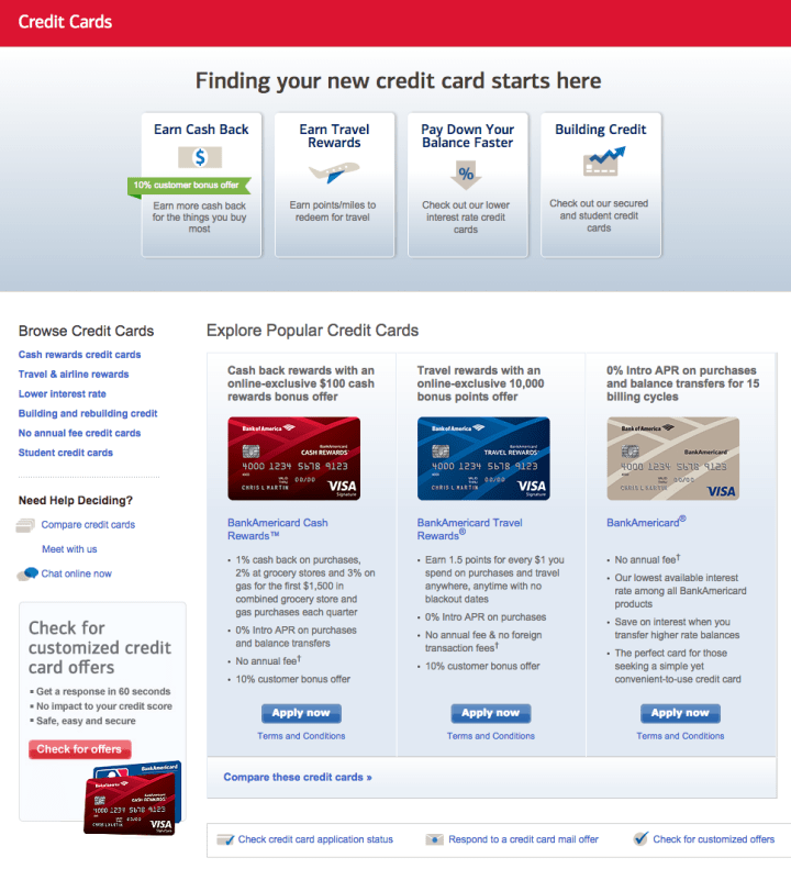 Bank Of America Business Credit Card Phone Number | Poemview.co
