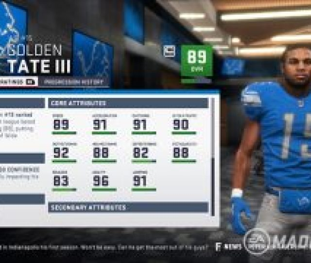 For Example The New Run Block Finesse And Pass Block Finesse Ratings Will Be Featured On Agile Linemen Meanwhile Power Linemen Will Rely On The New Run