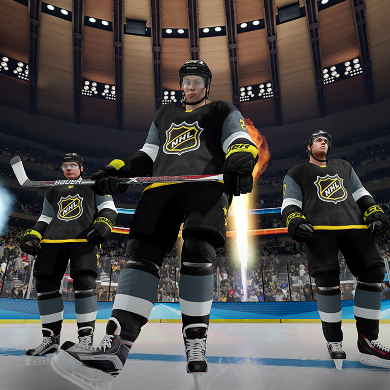 NHL THREES NHL 18 New Features EA SPORTS Official Site