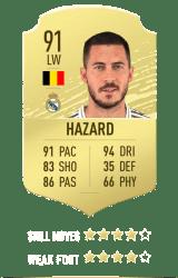 Hazard FUT 20