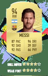Messi FUT 20