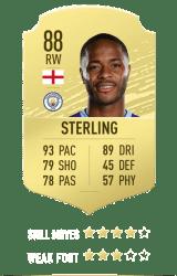 Sterling FUT 20