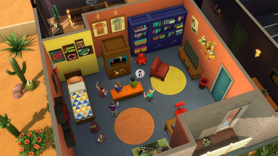 5 Astuces Pour Creer De Fantastiques Chambres Dans Le Kit D Objets Les Sims 4 Chambre D Enfants
