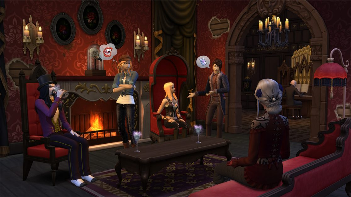 6 Amazing Creations Using The Sims 4 Vampires Game Pack