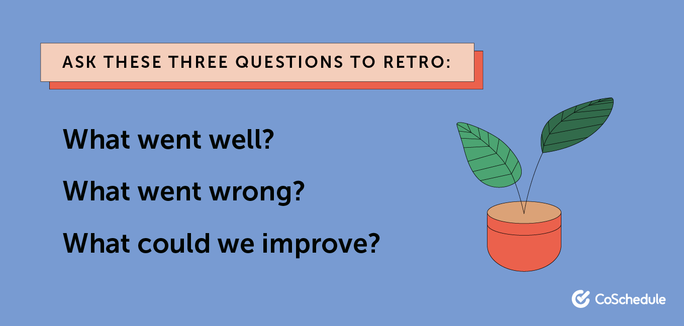 3 questions to retro