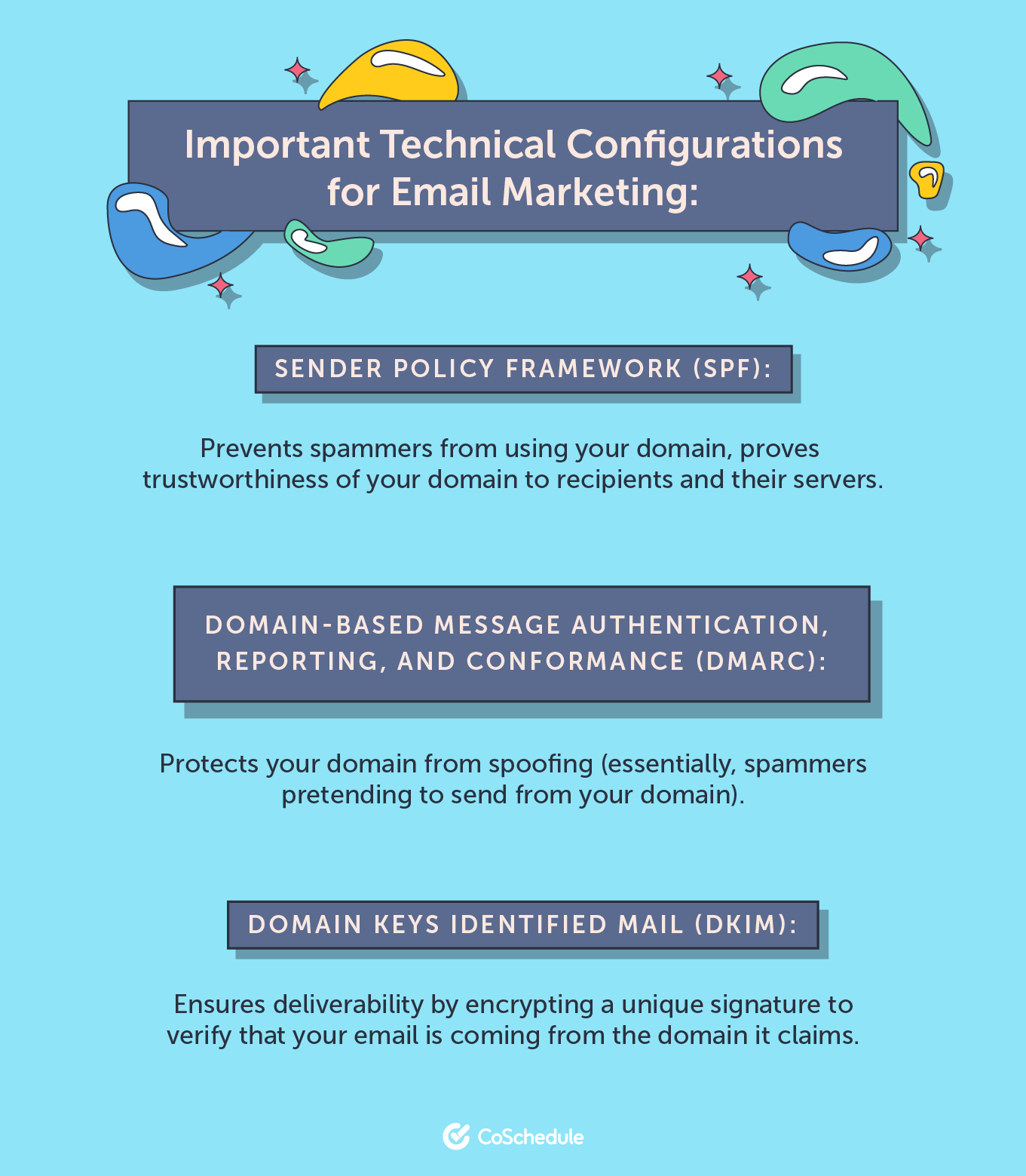Important technical configurations for email marketing