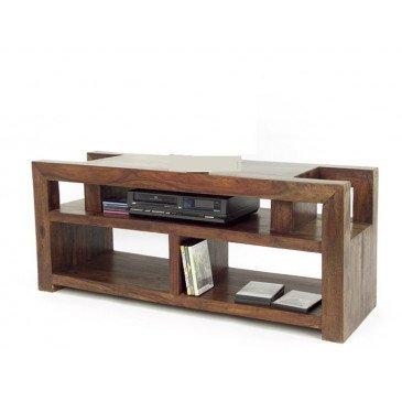 meuble tv destructure padang de style ethnique en palissandre
