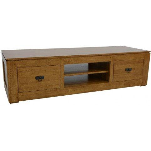 meuble tv bas style classique bois massif bruges