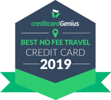 Best travel credit cards in Canada with no annual fee for 2019 award seal