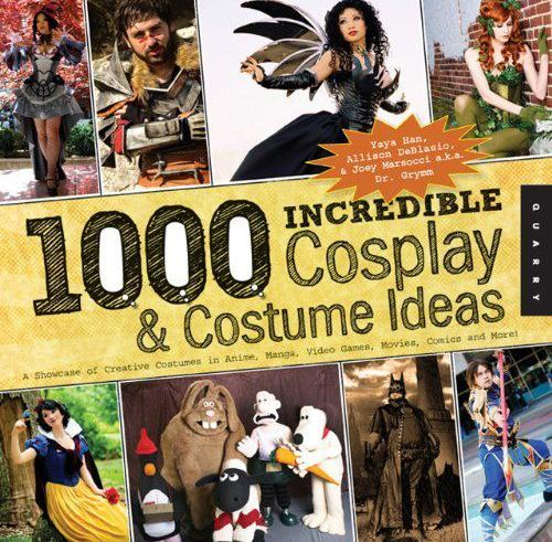 Local cosplayer features on international book cover 6