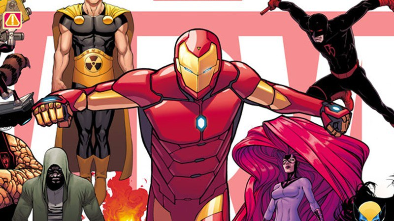 Here's your first look at the all-new all-different Marvel Universe after Secret Wars 4