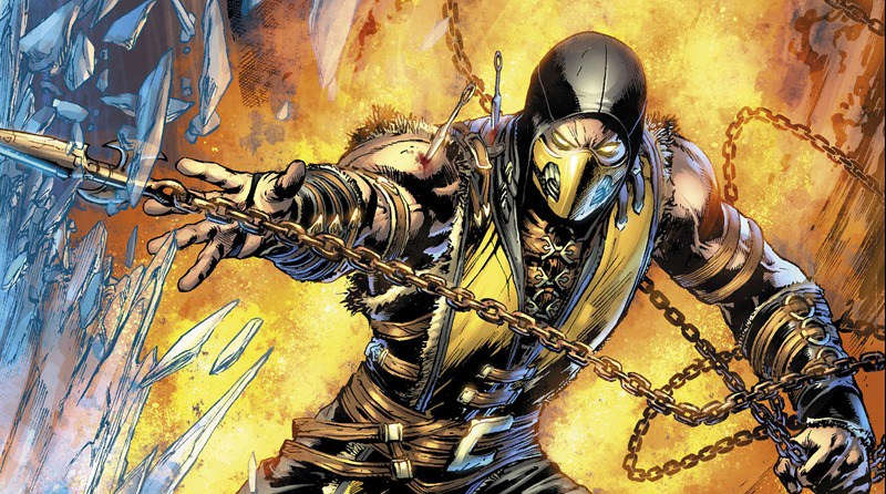 Catch up on Mortal Kombat X with a brand new comic book 1