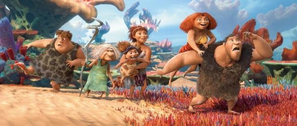 This new trailer for THE CROODS shows... the end! Duhn duhn duuuuuuuhhhhn! 3