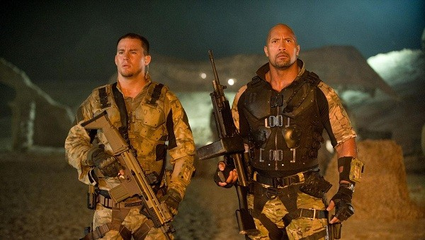 Don't expect to see too much Tatum in GI JOE 2: RETALIATION 5