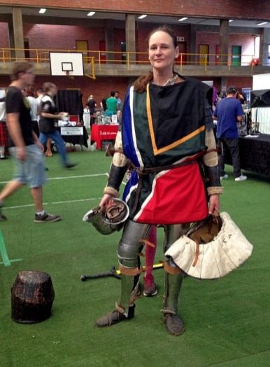 SA Gold Medalist in Medieval Combat.