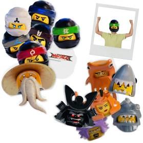 Lego Ninjago_Character Masks