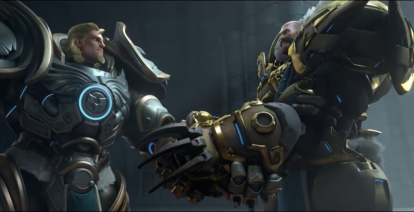 Awesome New Overwatch Cinematic Gives Us Reinhardt S Backstory Plus New Map And Skins Revealed