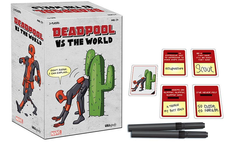Deadpool is coming to tabletops in Deadpool vs. the World 4