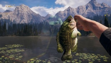 I'm really enjoying fishing in Far Cry 5 7