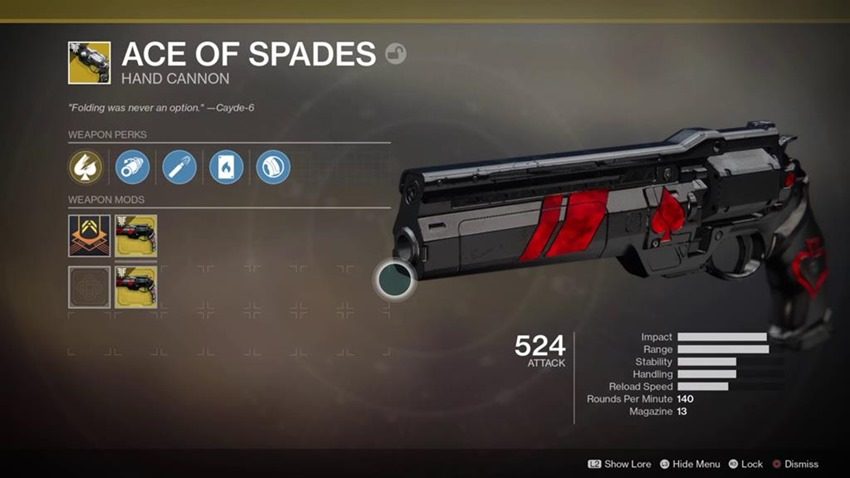 Destiny 2: Forsaken's Ace of Spades quest is brutal, painful and