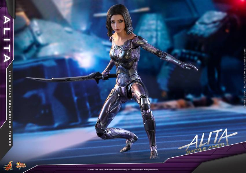 The new Hot Toys Alita: Battle Angel figure can see right into your soul 24
