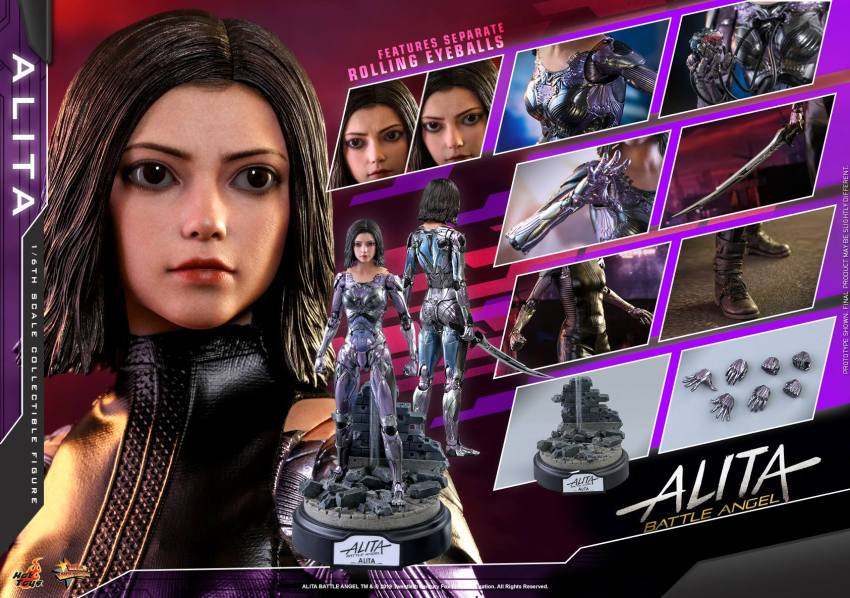 The new Hot Toys Alita: Battle Angel figure can see right into your soul 44