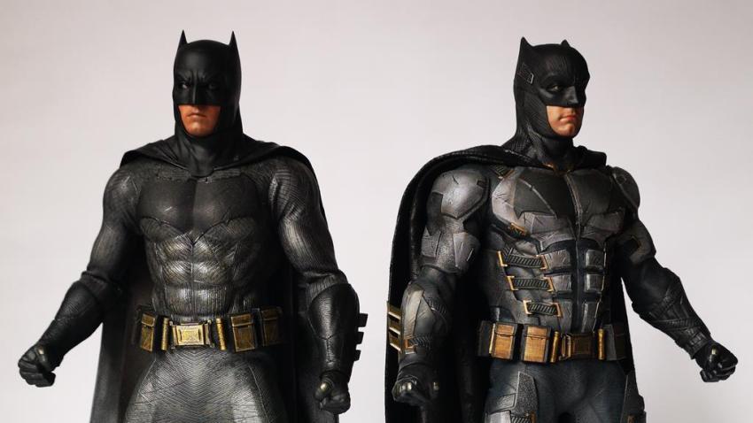 Hot Toys MMS 432 Justice League Batman Tactical Batsuit Review – Bat in Black 35