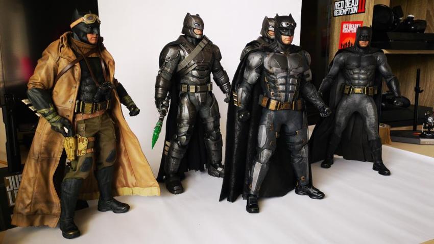 Hot Toys MMS 432 Justice League Batman Tactical Batsuit Review – Bat in Black 44
