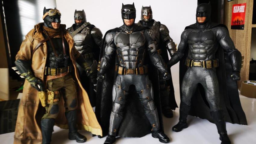 Hot Toys MMS 432 Justice League Batman Tactical Batsuit Review – Bat in Black 45