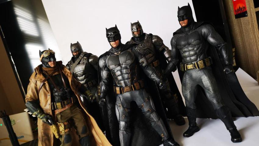 Hot Toys MMS 432 Justice League Batman Tactical Batsuit Review – Bat in Black 46