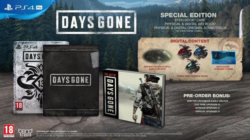 Days Gone hits the Oregon trail in a new trailer, special editions revealed 3
