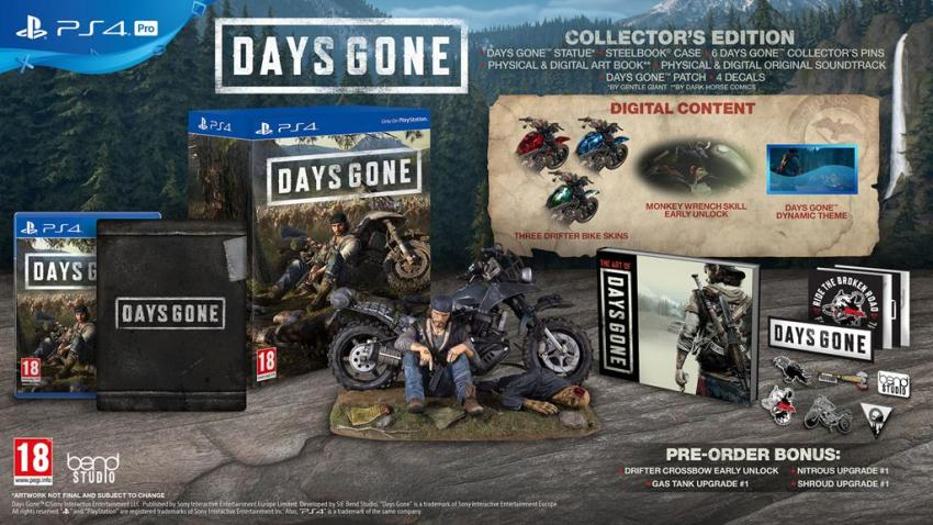 Days Gone hits the Oregon trail in a new trailer, special editions revealed 4
