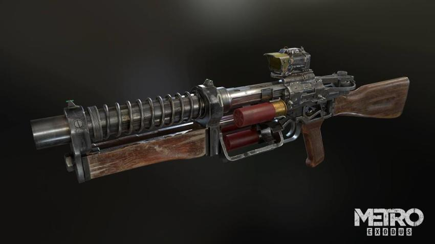 Guns! Glorious guns! Here's a look at the handcrafted arsenal of Metro Exodus 14