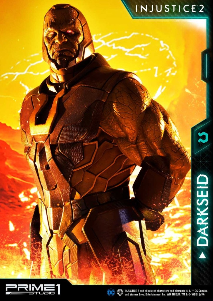 Darkseid is…a $1200 collector's fan dream in this new Prime 1 Studio release 33