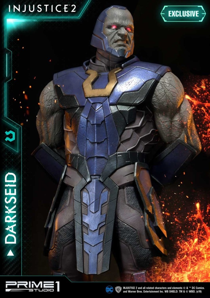 Darkseid is…a $1200 collector's fan dream in this new Prime 1 Studio release 37