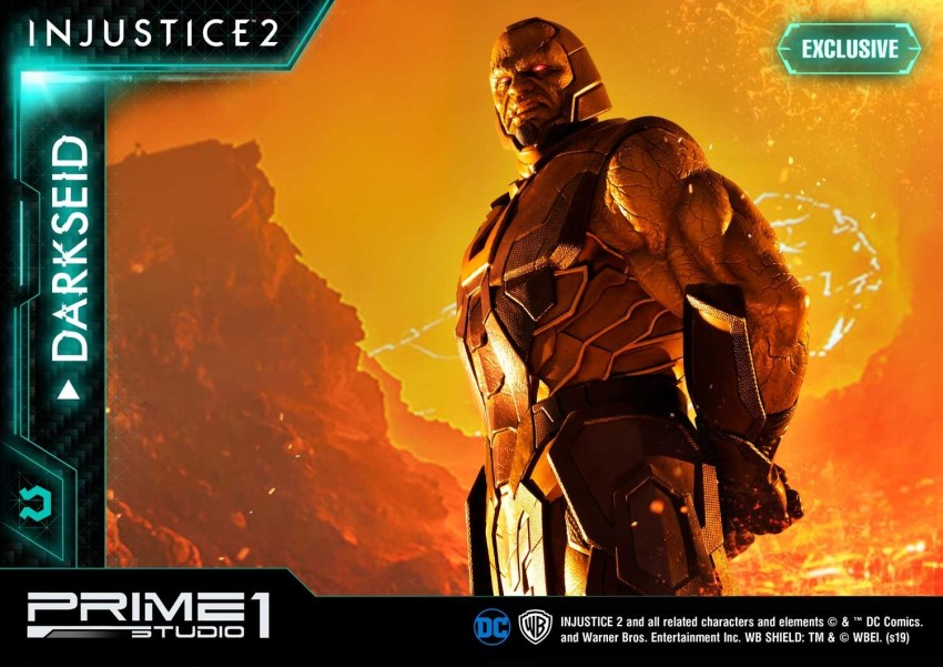 Darkseid is…a $1200 collector's fan dream in this new Prime 1 Studio release 24