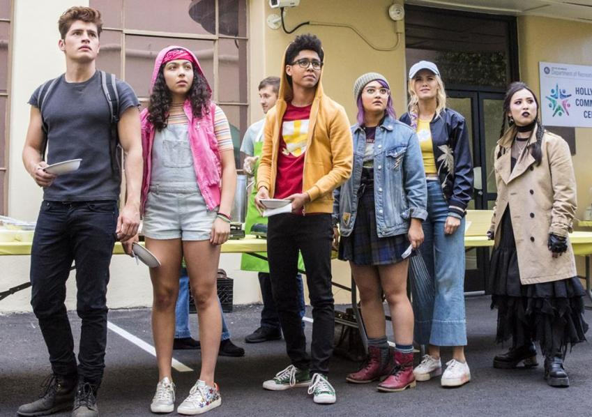 Marvels Runaways Interview – Ariela Barer talks higher stakes for Gert and acting opposite a dinosaur 12