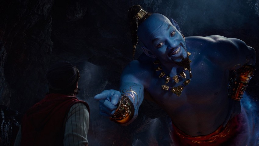 Will Smith's Genie revealed in new trailer for Aladdin 2