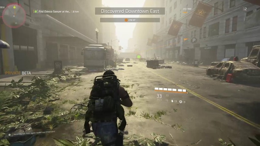 The Division 2 open beta takes place in March