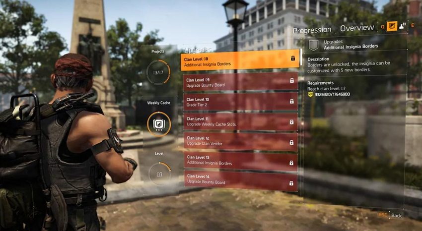 The Division 2 – Ubisoft details how Clans will work 4