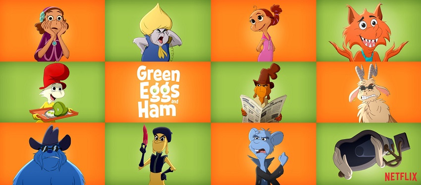 Unwitting partners undertake a road trip in Netflix's Dr. Seuss adaption Green Eggs and Ham 2