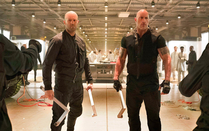 Watch the explosive first trailer for Fast and Furious spinoff Hobbs & Shaw! 3