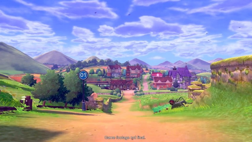 Here's your first look at Pokémon Sword and Pokémon Shield 17
