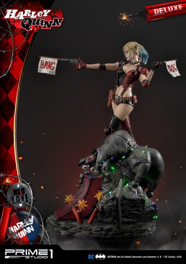 Behold Prime 1's new $1350 Harley Quinn statue, puddin' 41