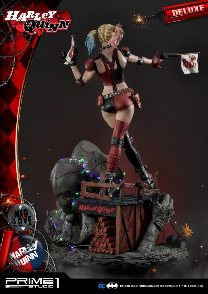 Behold Prime 1's new $1350 Harley Quinn statue, puddin' 42