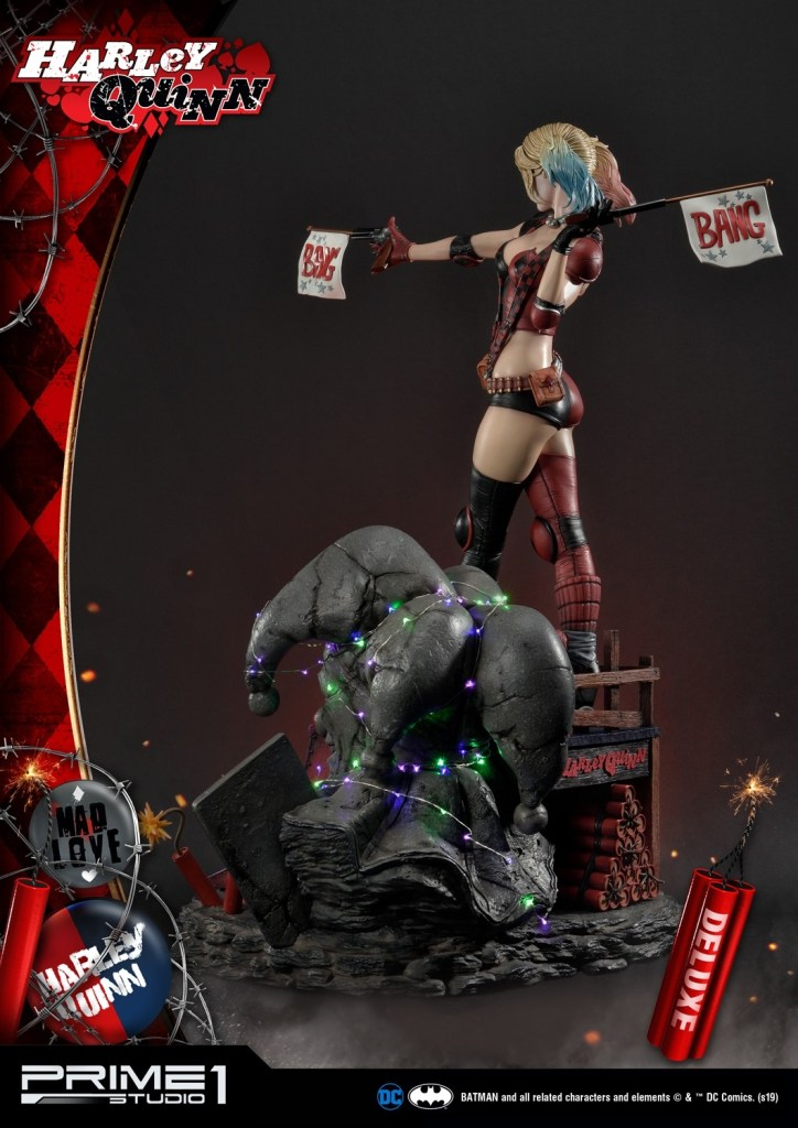 Behold Prime 1's new $1350 Harley Quinn statue, puddin' 49